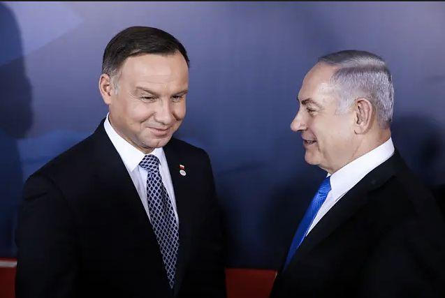 """Publikacja """"Jerusalem Post"""" opisująca spotkanie prezydenta Dudy z premierem Benjaminem Netanjahu ponownie zagroziła współpracy polsko-izraelskiej."""
