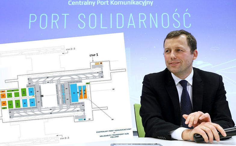 Hub komunikacyjny ma zostać wybudowany do 2027 roku. Będzie kosztować 35 mld zł