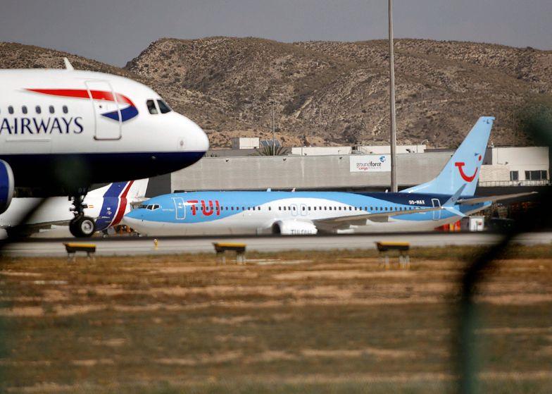 Uziemione Boeingi 737 MAX.