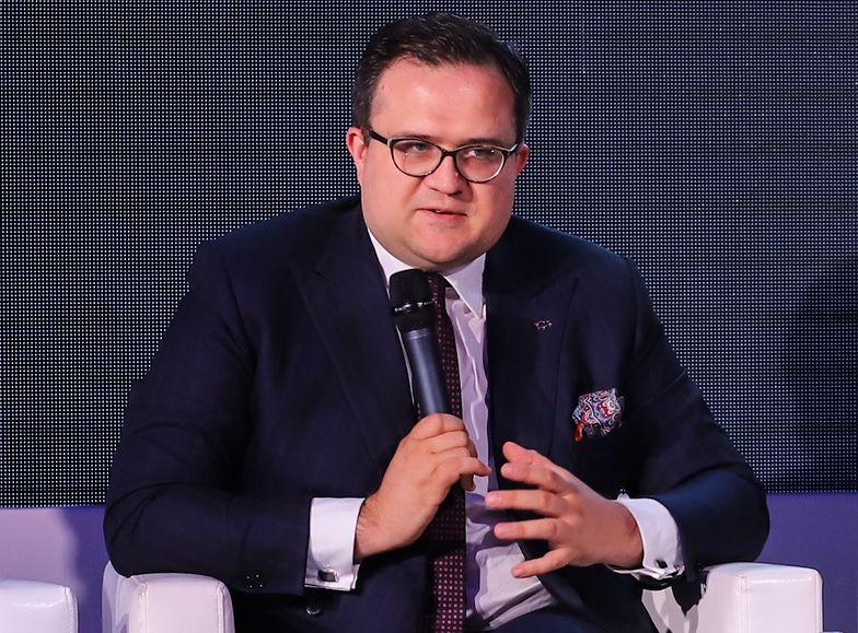 Michał Krupiński, prezes Banku Pekao.