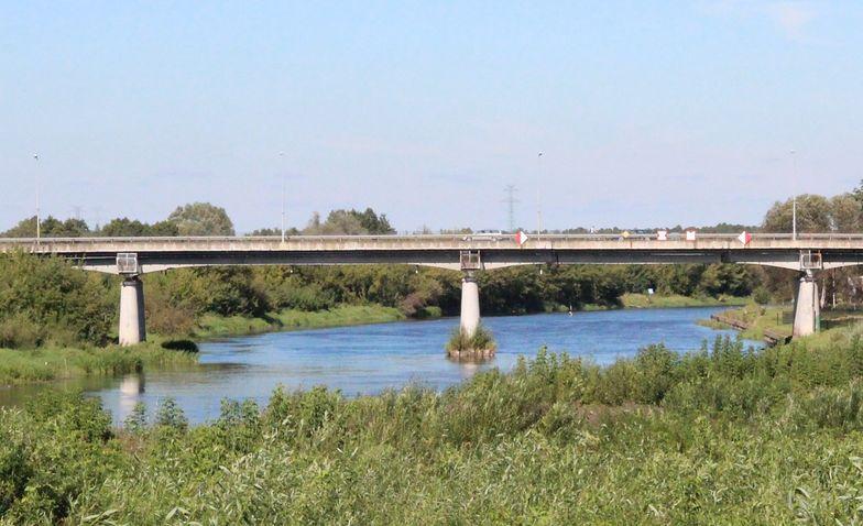 Stary most w Ostrołęce.