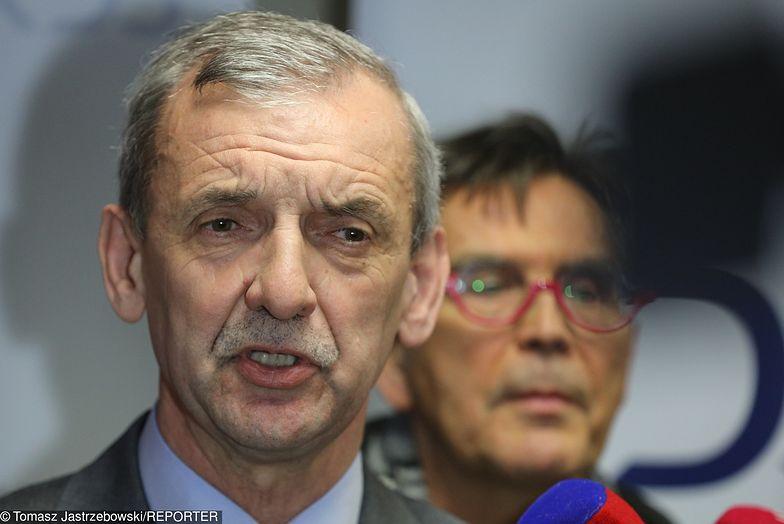 Prezes ZNP Sławomir Broniarz źle odebrał sobotnie wystąpienie Jarosława Kaczyńskiego w Gdańsku