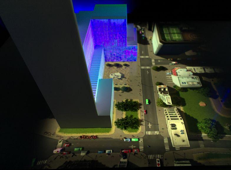 SKYSAWA to nowoczesny kompleks przestrzeni biurowych.