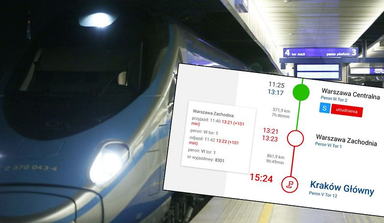Koronawirus w Warszawie? Takie obawy mieli pasażerowie. Pociąg z Kołobrzegu do Krakowa zatrzymał się na dworcu warszawa Centralna ok. 11:25. Sprawę sprawdzają służby sanitarne