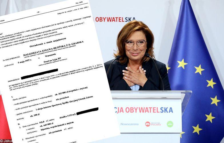 Wicemarszałek Sejmu Małgorzata Kidawa-Błońska kandydatką KO na premiera.