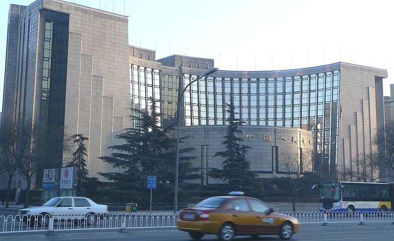 Siedziba Ludowego Banku Chin.