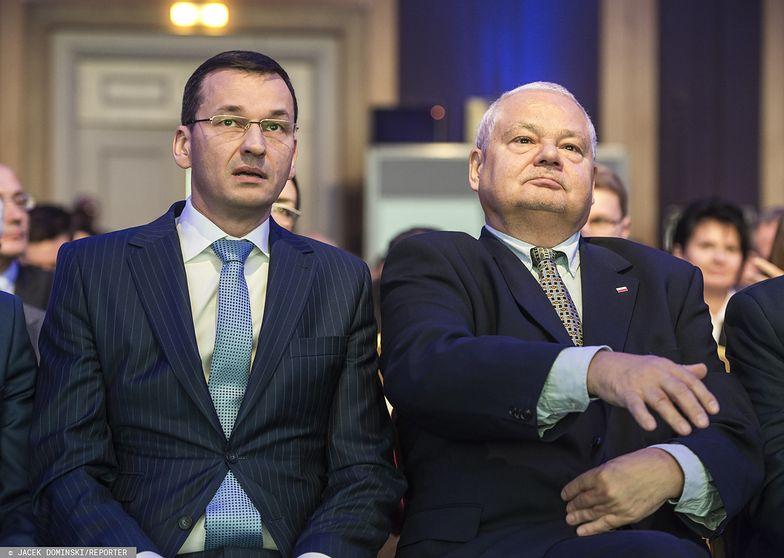 Prezes Glapiński pomoże premierowi Morawieckiemu zbilansować budżet