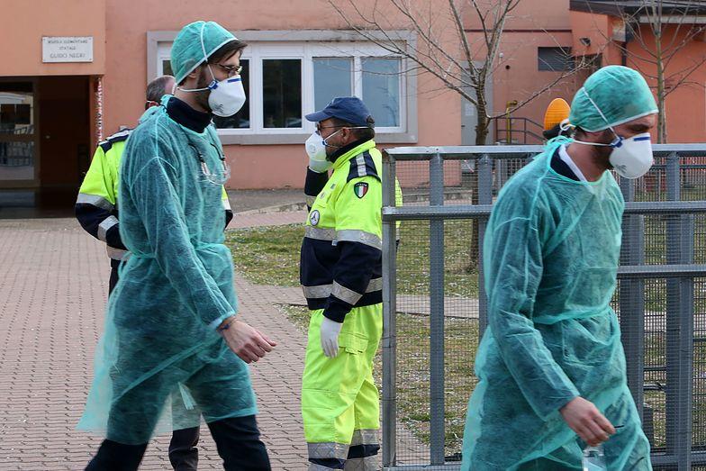We Włoszech obawa. Już pięć ofiar koronawirusa.