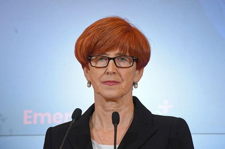 Minister Elżbieta Rafalska dziś znacznie rzadziej mówi o demograficznych efektach programu 500+.