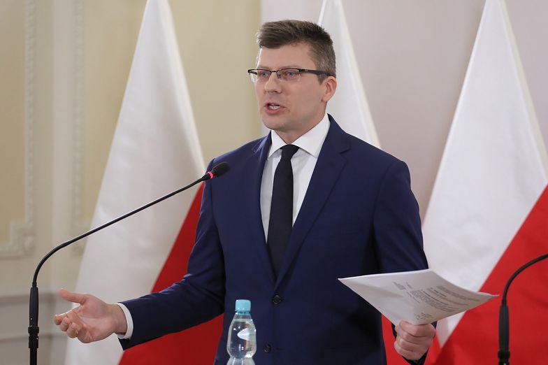 Marcin Warchoł przekonuje, że nowe przepisy będą dobrym narzędziem do walki z zorganizowaną przestępczością