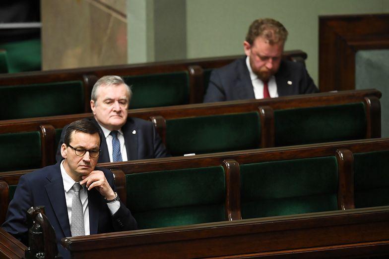 Ustawa o COVID-19 w Sejmie. Minister PiS żąda wyjaśnieni od premiera Morawieckiego
