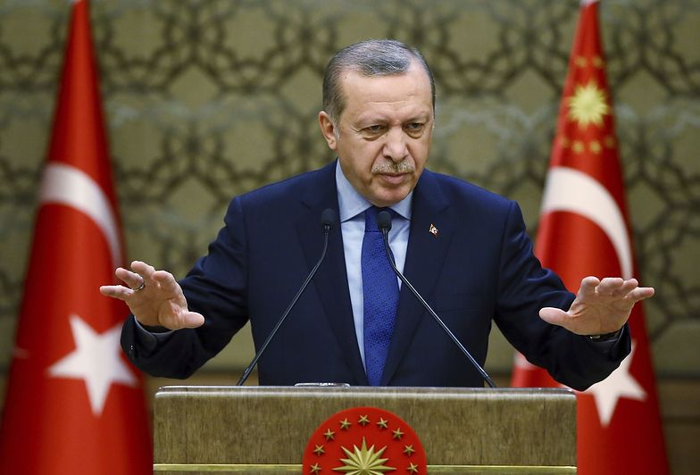 Prezydent Recep Tayyip Erdogan pokazał, kto ma władzę absolutną w Turcji.