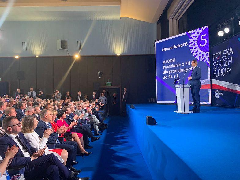 """Morawiecki: """"Warto iść na wybory, aby było w Polsce normalnie, a normalność jest wtedy, gdy wszyscy Polacy doświadczają wzrostu gospodarczego"""""""