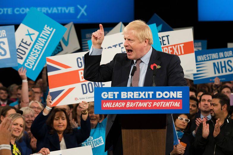 Boris Johnson zyskał wsparcie przed wyborami.