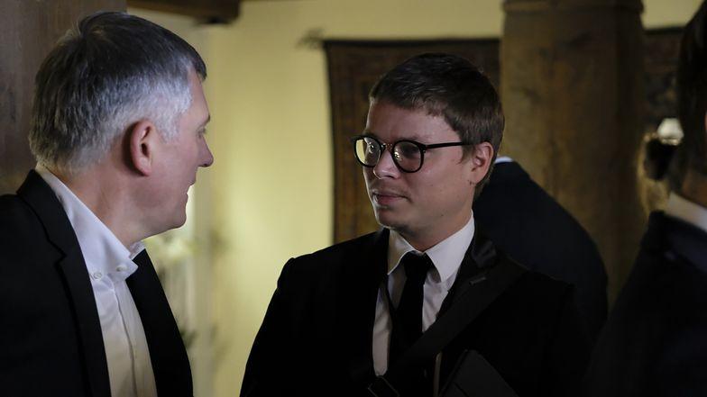 Na zdjęciu po prawej Jarosław Królewski, prezes Synerise i prywatny inwestor Wisły Kraków