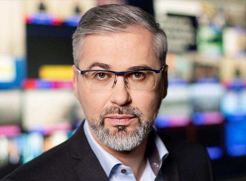 Michał Samul jest z TVN związany od lat