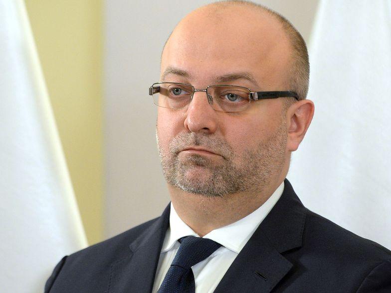 Łukasz Piebiak odszedł ze stanowiska po ujawnieniu, że mógł stać za zorganizowanym hejtem