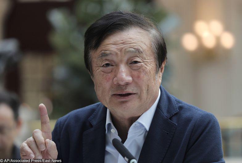 Ren Zhengfei nie boi się konfliktu z USA