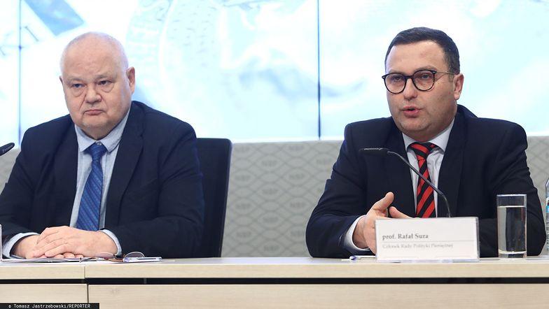 Adam Glapinski i Rafał Sura zasiadają w RPP.