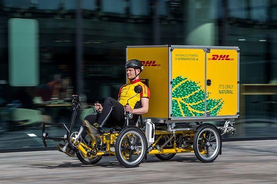 Rowery dostawcze wypchną ciężarówki z centrów miast