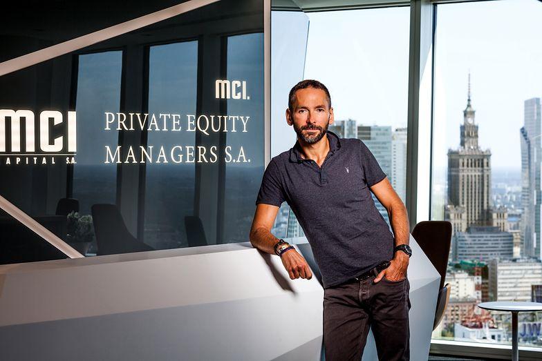Tomasz Czechowicz - twórca i twarz całej grupy MCI. Dziś musi się tłumaczyć przed inwestorami.