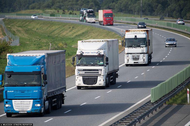 Polskie ciężarówki już nie tak częśto pojawiać się będą na zachodnich autostradach.