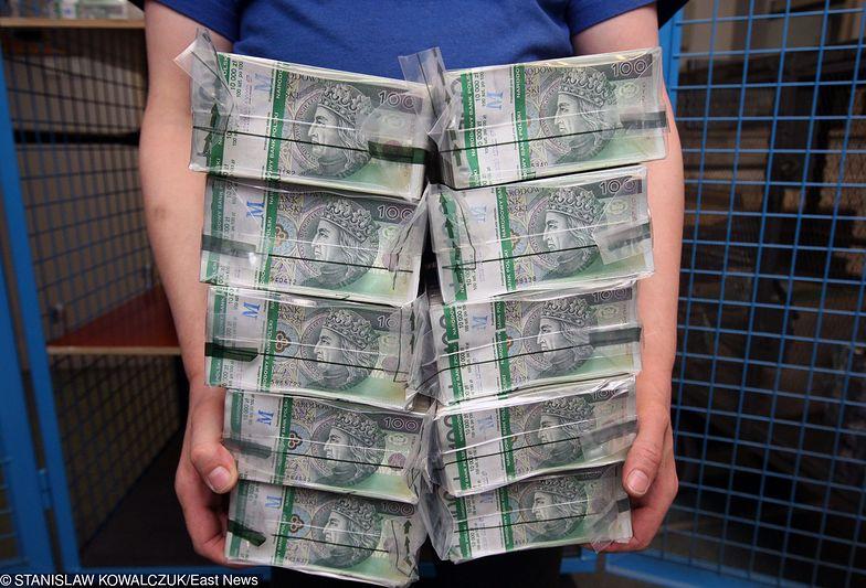Stuzłotówki to najbardziej popularne banknoty w obiegu.