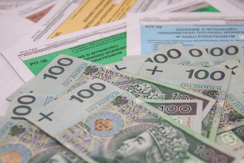 Podatek dochodowy od osób fizycznych (PIT) w dół