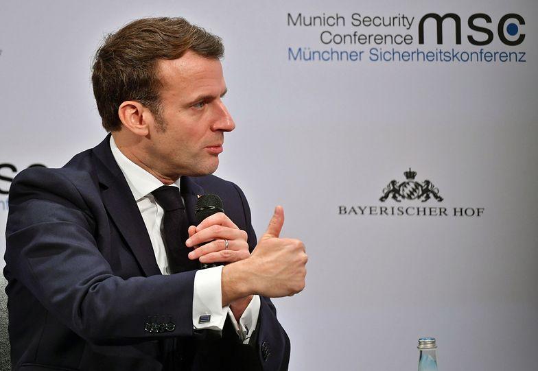 Emmanuel Macron otwiera drzwi dwóm nowym krajom do wstąpienia do UE.