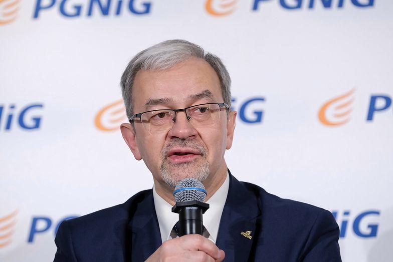 Jerzy Kwieciński od niedawna stoi na czele PGNiG.