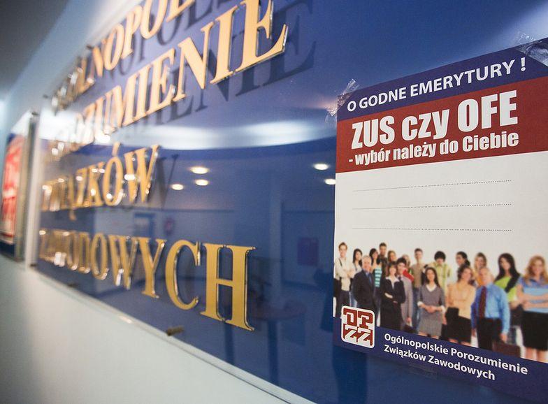Średnio każdy Polak odłożył w OFE ok. 10 tys. złotych.