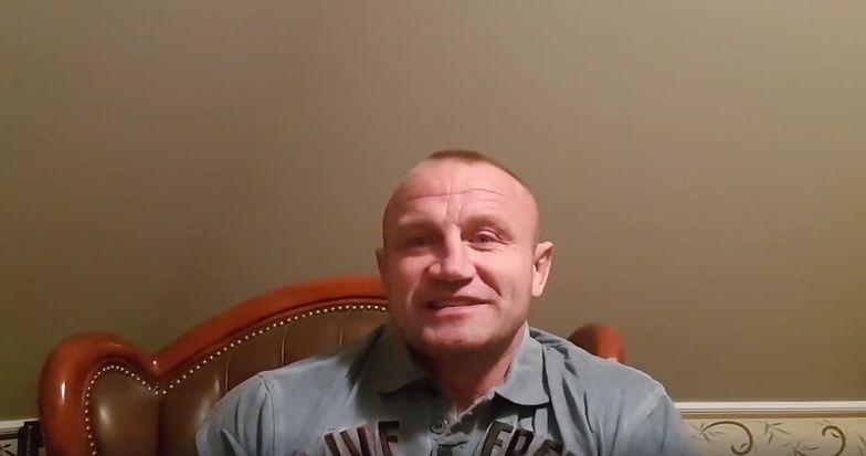 Mariusz Pudzianowski odpowiedział na zarzuty jednego z właścicieli hotelu w Andrychowie