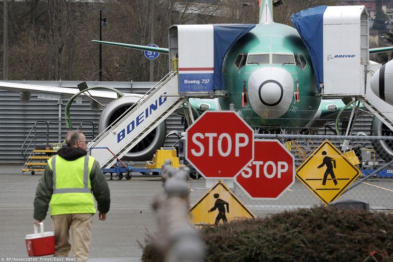 Boeing wstrzymuje produkcję modelu 737 Max