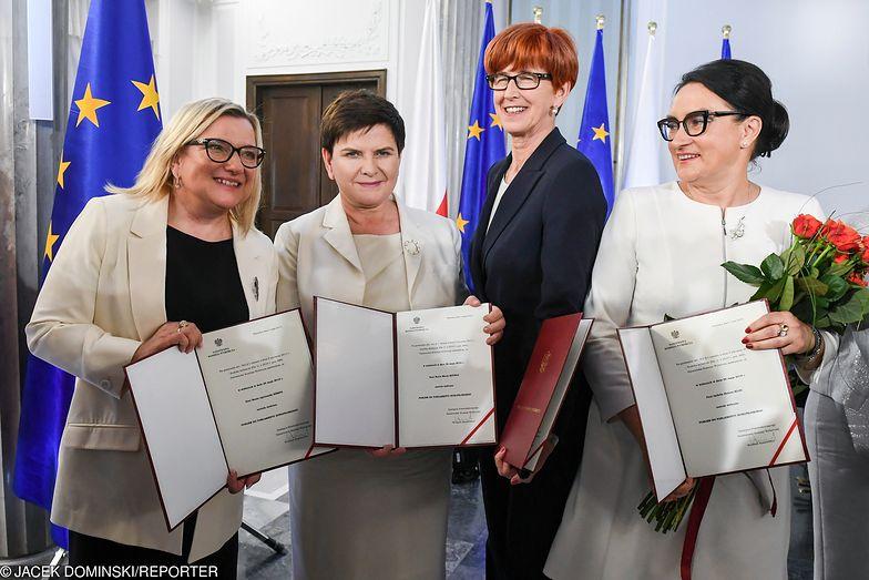 Ministrowie Zalewska, Szydło, Rafalska i Kempa oraz Brudziński wybrali karierę w Brukseli.