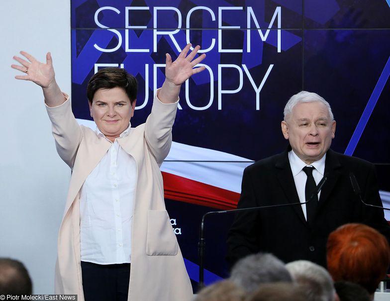 Beata Szydło otrzymała rekordową liczę głosów - prawie pół miliona.