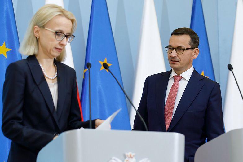 Premier Mateusz Morawiecki i minister finansów Teresa Czerwińska ostatnio nie mogą się porozumieć.
