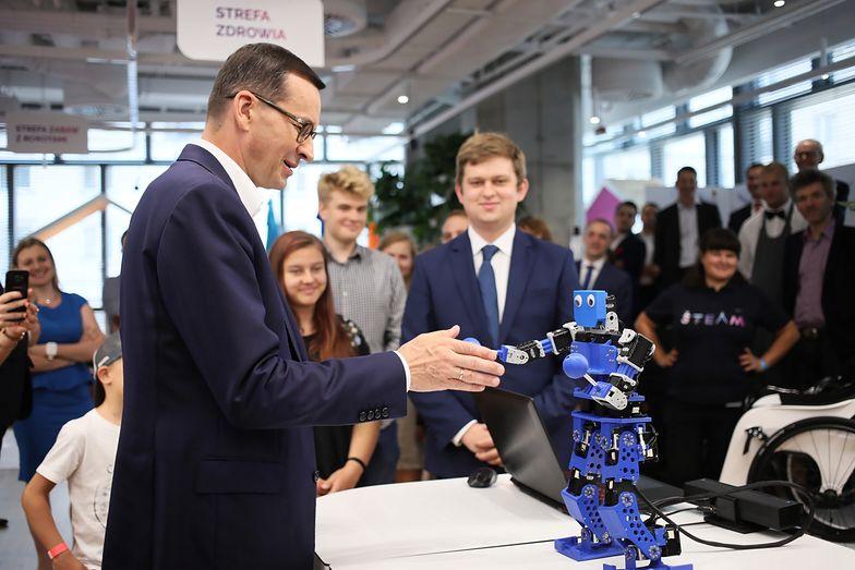 Premier Mateusz Morawiecki w Centralnym Domu Technologii