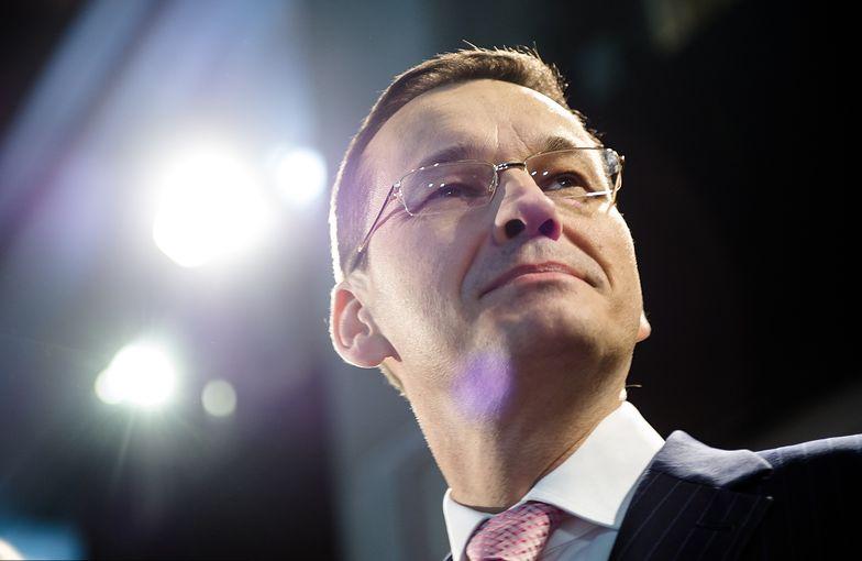 Mateusz Morawiecki chce wpisać się w historię jako pierwszy premier, który zaplanował budżet bez deficytu