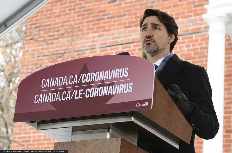 Premier Kanady Justin Trudeau ogłosił w piątek dodatkową pomoc dla przedsiębiorców i pracowników
