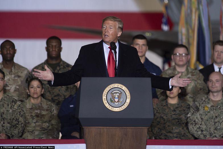 Donald Trump wydał rozkaz zabicia Sulejmaniego.