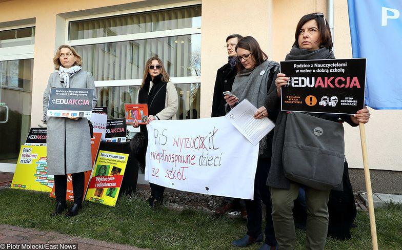 Strajk nauczycieli popiera też część rodziców. Jednak o tym czy pracownicy oświaty zaprotestują - zdecyduje ich samozaparcie.