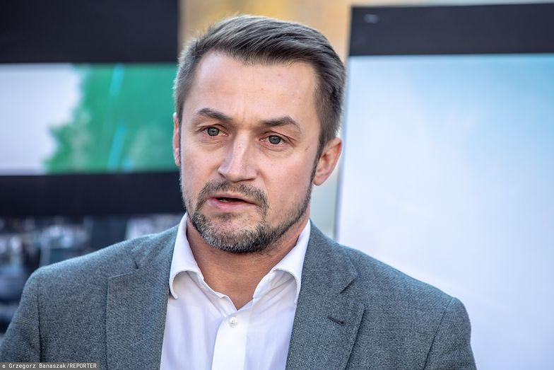 Piotr Guział przez 4 lata był burmistrzem Ursynowa. Dziś robi karierę w państwowej spółce