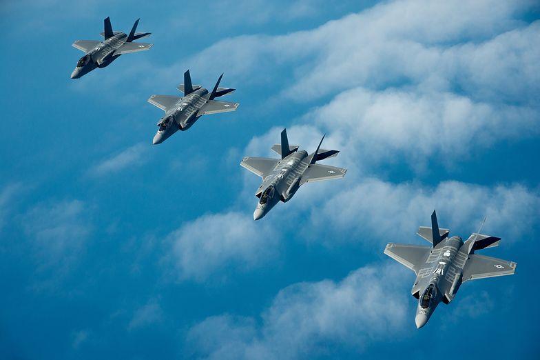 Polska zamierza kupić 32 maszyny piątej generacji - na zdjęciu amerykańskiego F-35