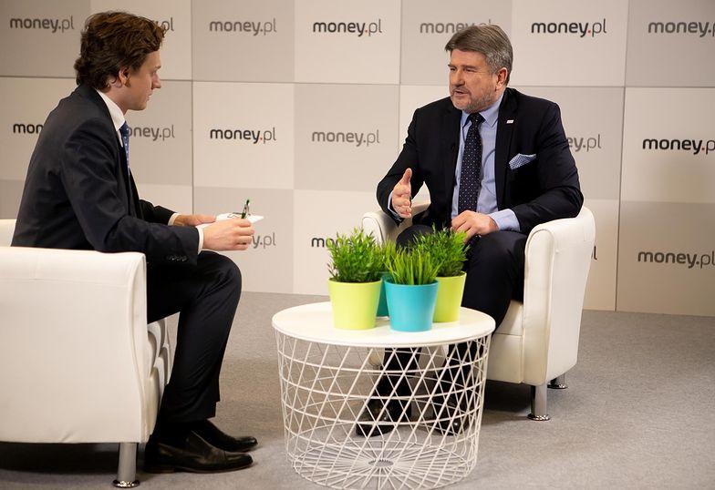 Bogdan Rzońca w studio money.pl