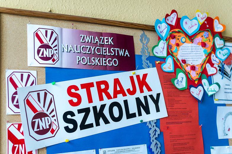 Szykująca się do strajku szkoła w Łodzi