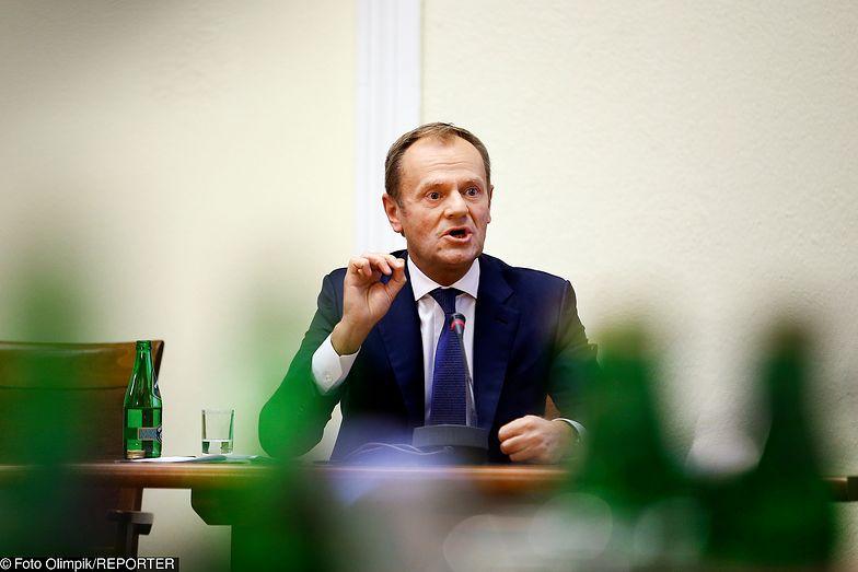 Donald Tusk przesłuchiwany przez komisję śledczą ds. VAT
