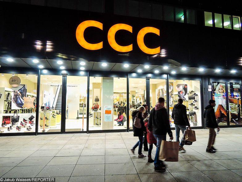 Przychody CCC rosną, ale zyski idą w dół