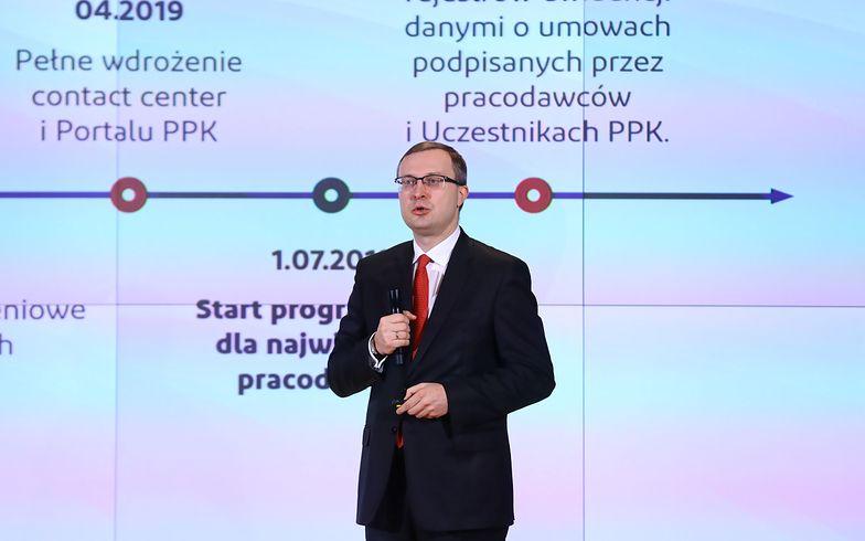 Paweł Borys chce ulżyć średnim przedsiębiorcom. Wiele takich firm miało spore problemy z PPK