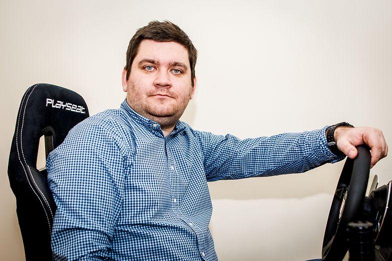 Piotr Wątrucki, prezes ECC Games. Jego spółka debiutuje na NewConnect GPW.