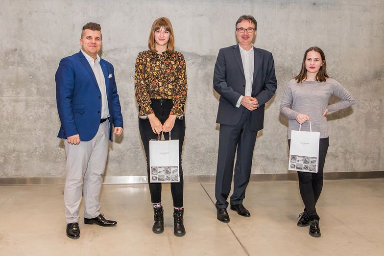 Laureaci konkursu organizowanego przez Grupę Volkswagen Group Polska